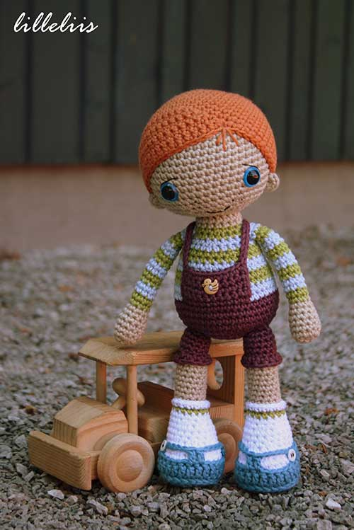 Doll Base for Amigurumi crochet doll: english pattern | 749x500