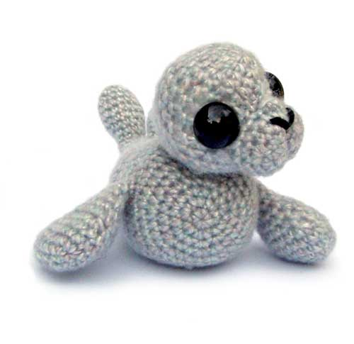 Stitch Amigurumi Crochet Pattern : Sable the Seal amigurumi pattern - Amigurumipatterns.net