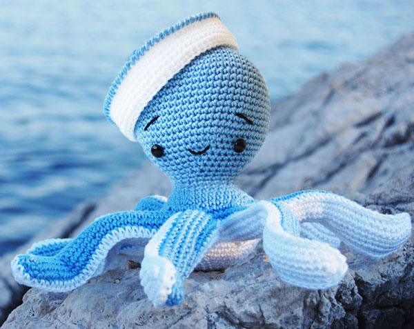 Sailor Octopus amigurumi pattern - Amigurumipatterns.net