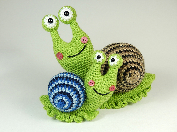 Shelley the snail amigurumi pattern - Amigurumipatterns.net