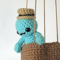 Skywhale amigurumi crochet pattern by Maffers Toys