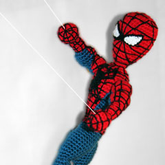 Spiderman Superhero amigurumi pattern by Sahrit