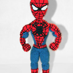 Spiderman Superhero amigurumi by Sahrit