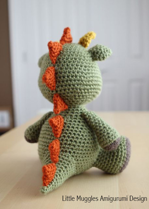How To Decrease In Amigurumi : Spike the Dragon amigurumi pattern - Amigurumipatterns.net