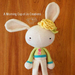 Spring Bunny amigurumi pattern by A Morning Cup of Jo Creations