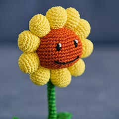 Amigurumi Potted Sunflower Free Crochet Pattern - Cool Creativities | 240x240