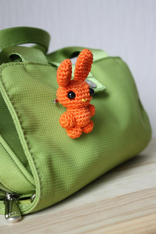 Tiny Bunny Rabbit Amigurumi Stuffed Animal Doll | AllFreeCrochet.com | 750x500