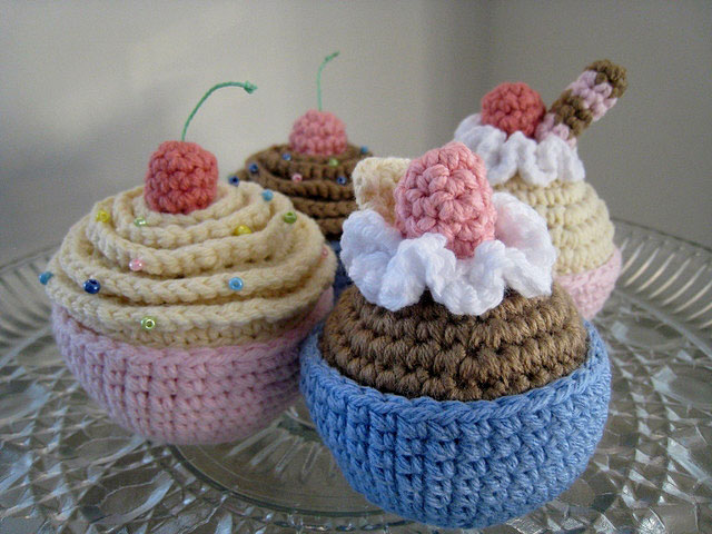 Crochet Pattern Free Cupcake : Pics Photos - Amigurumi Cupcake Pattern Catalog Of Patterns