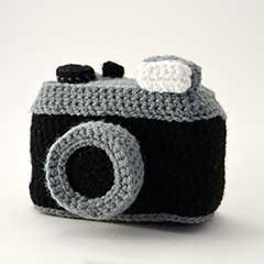 Vintage Photo Camera amigurumi pattern by The Flying Dutchman Crochet Design