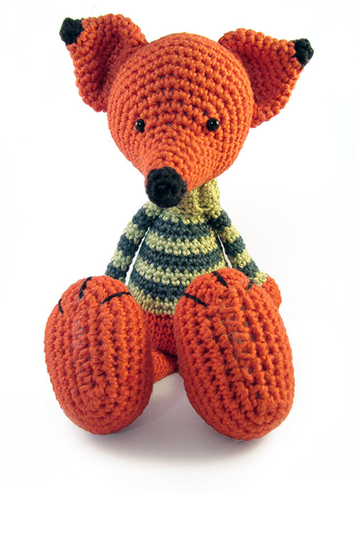 Knitting Patterns For Forest Animals : Vladimir the Fox amigurumi pattern - Amigurumipatterns.net