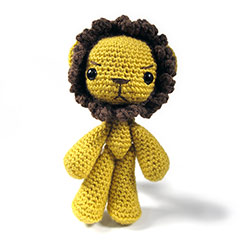 Zoomigurumi 2 Arthur the lion pattern