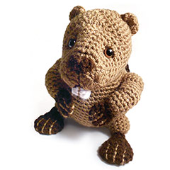 Zoomigurumi 2 Benny the beaver crochet pattern