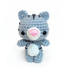Zoomigurumi Eduardo the donkey crochet pattern