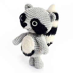 Zoomigurumi 2 Febo the raccoon pattern