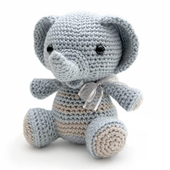 Zoomigurumi 2 Humphrey the elephant crochet pattern