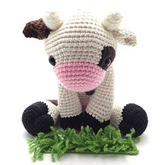 Zoomigurumi 2 Lola the cow pattern