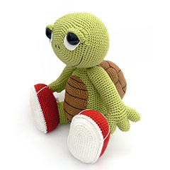 Zoomigurumi 2 Otto the turtle crochet pattern