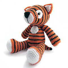 Zoomigurumi 2 Tom the tiger crochet pattern