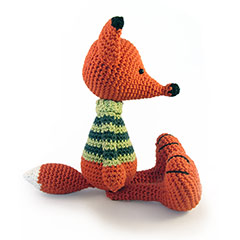 Zoomigurumi 2 Vladimir the Fox crochet pattern