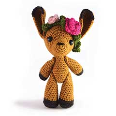 Zoomigurumi 3 - Flora the Fawn crochet pattern