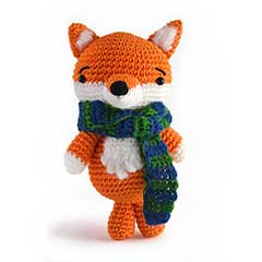 Zoomigurumi 3 - Jean the Fox crochet pattern