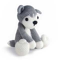 Zoomigurumi 3 - Nanook the husky pattern