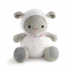 Zoomigurumi 3 - Cuddles the lamb crochet pattern