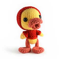 Zoomigurumi 3 - puddles the duckling crochet pattern