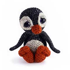 Zoomigurumi 3 - Wilbur the penguin crochet pattern