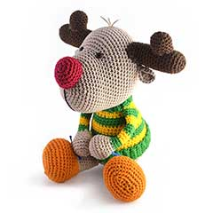 Zoomigurumi 3 - Rudy the reindeer crochet pattern