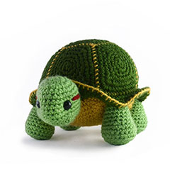 Zoomigurumi 3 - Orion the turtle crochet pattern