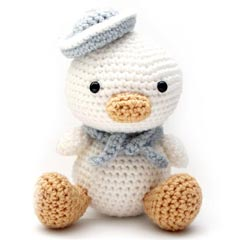 Zoomigurumi Lil Quack the duck crochet pattern