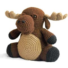 Zoomigurumi Morton the Moose crochet pattern