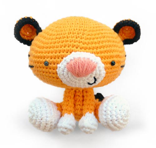 Ravelry: Amigurumi Cubby the Tiger pattern by Little Muggles | 473x500