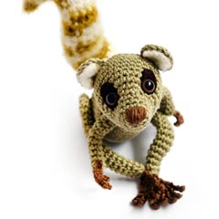 Zoomigurumi Sartu the Lemur crochet pattern