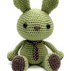 Zoomigurumi Wasabi the Bunny crochet pattern