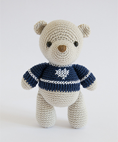 Amigurumi Winter Wonderland - bear crochet pattern
