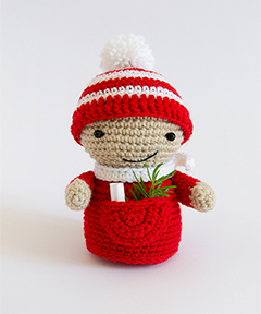 Amigurumi Winter Wonderland - Little elf crochet pattern