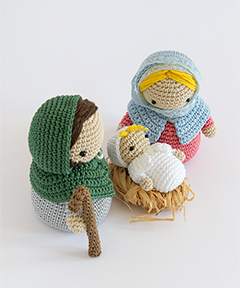Amigurumi Winter Wonderland - Nativity set crochet pattern