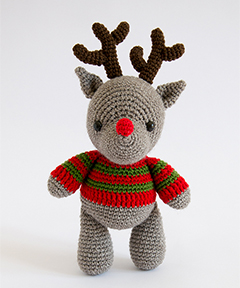 Amigurumi Winter Wonderland - reindeer crochet pattern