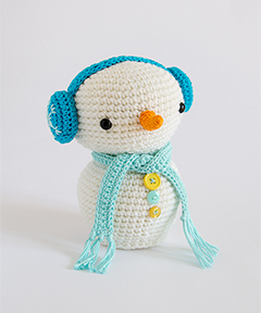Amigurumi Winter Wonderland - Snowman crochet pattern