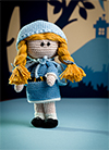 Amigurumi Fairy Tales - goldilocks crochet pattern