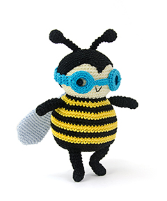 Zoomigurumi 4 - Zeno the bumblebee crochet pattern