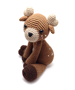 Zoomigurumi 4 - Toru the deer crochet pattern