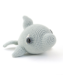 Zoomigurumi 4 - Doris the dolphin crochet pattern