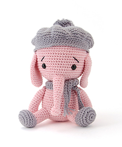 Zoomigurumi 4 - Emily the elephant crochet pattern