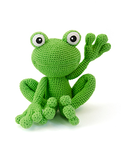 Zoomigurumi 4 - Kirk the frog crochet pattern