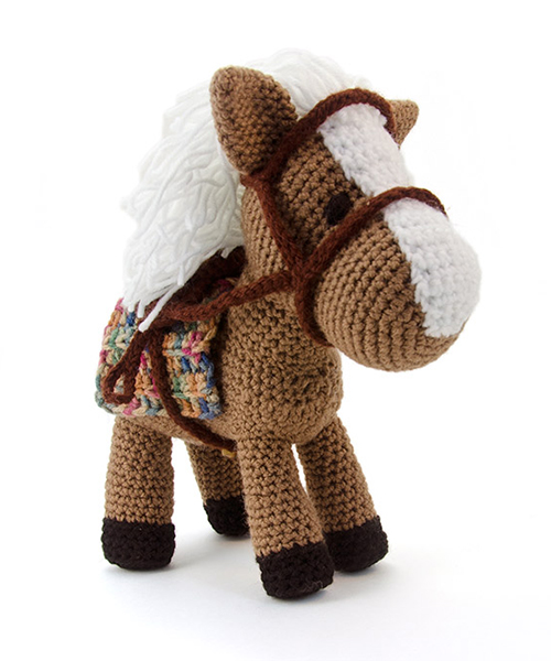 Zoomigurumi 4 - Hector the horse crochet pattern