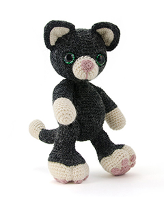 Zoomigurumi 4 - Charlie the kitten crochet pattern