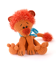 Zoomigurumi 4 - Leopold the lion crochet pattern